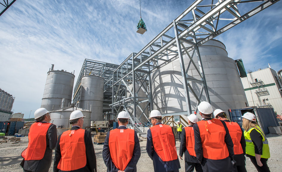 Veramaris, the joint venture of DSM and Evonik, held a topping-out ceremony on site in Blair, Nebraska.